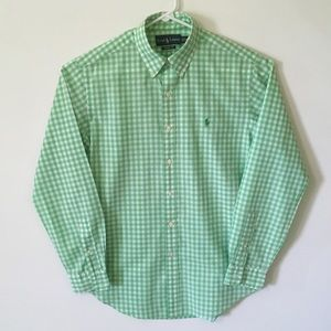 Ralph Lauren Classic Fit Gingham Button Down